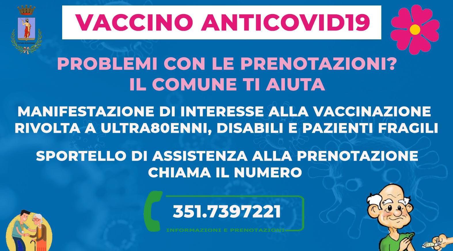 Locandina vaccino anticovid