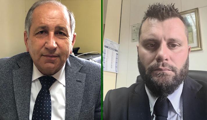 immagine dottor Tiziano Zitella e all'architetto Antonio Ferretti