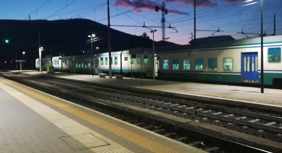 immagine stazione ferrovia avezzano