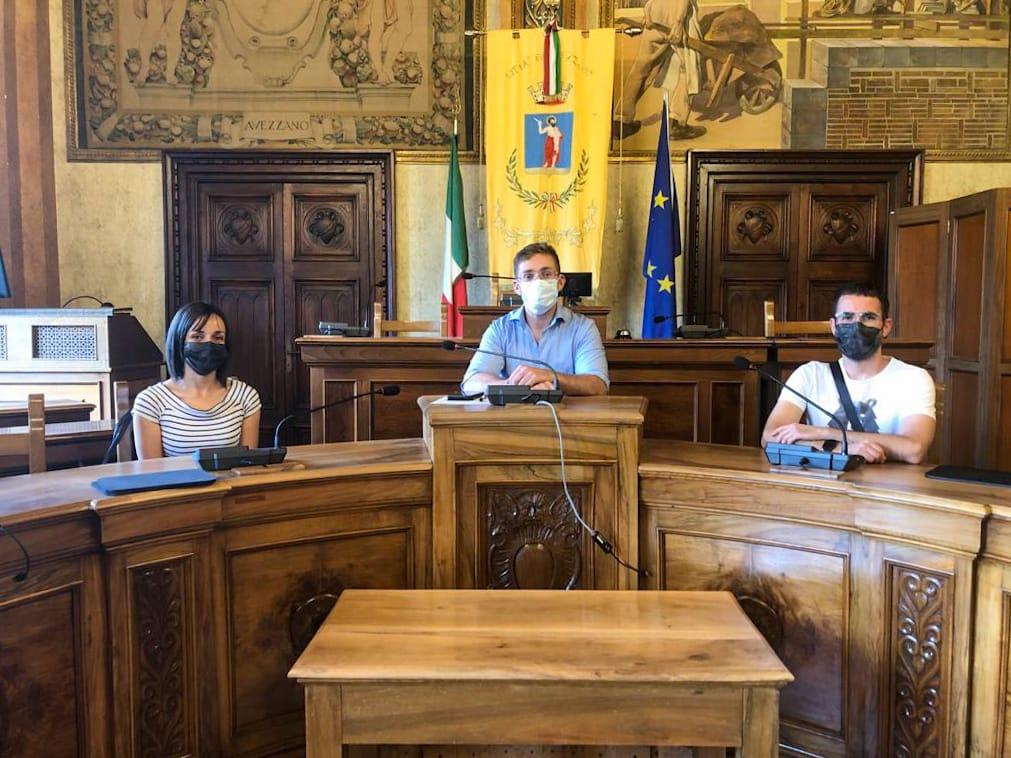 immagine da sx Chiarilli, Simonelli, Stringini