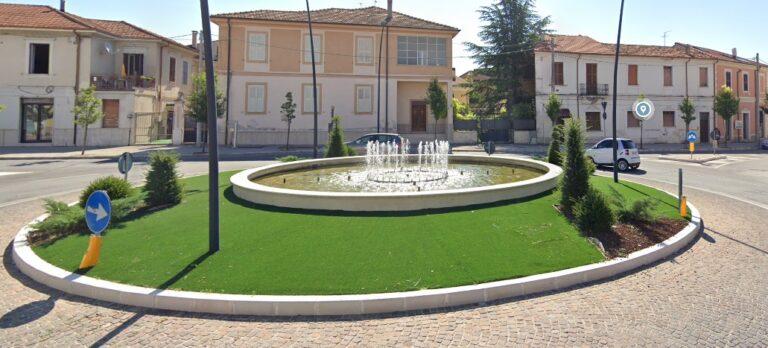 immagine fontana piazza orlandini