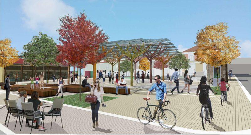 immagine progetto piazza mercato